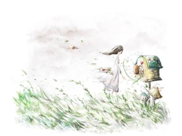 Gambar Ilustrasi Kartun Romantis 4