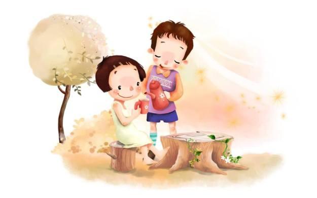 Gambar Ilustrasi Kartun Romantis
