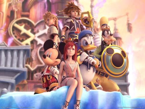 Gambar Kingdom Hearts Disney Wallpaper