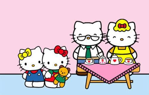 Keluarga Hello Kitty