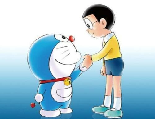 Doraemon 2 Lampu Kecil