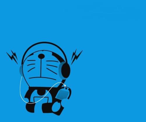 Unduh Kumpulan Wallpaper Doraemon Hitam Gratis Terbaik