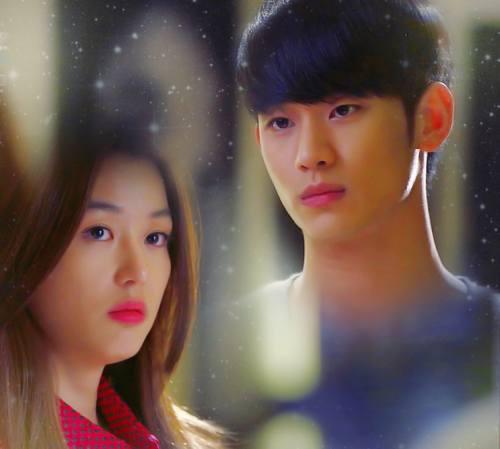 Foto Jun Ji Hyun dan Kim Soo Hyun My Love From The Star
