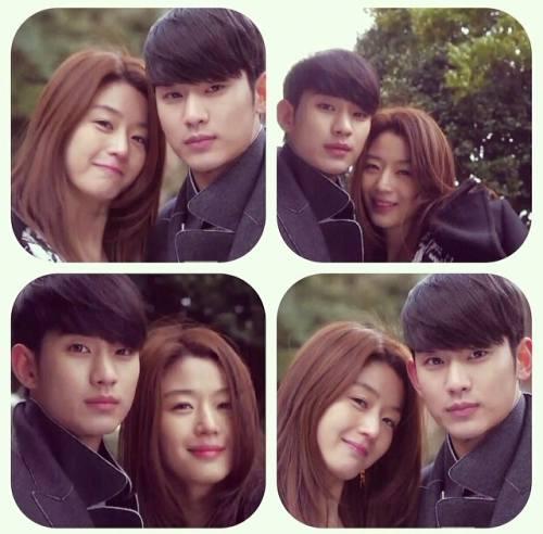 Foto Kim Soo Hyun dan Jun Ji Hyun Drama My Love From The Star