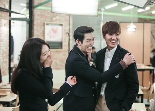 Foto pemeran Drama The Heirs, Lee Min Ho, Park Shin Hye, Kim Wo Bin