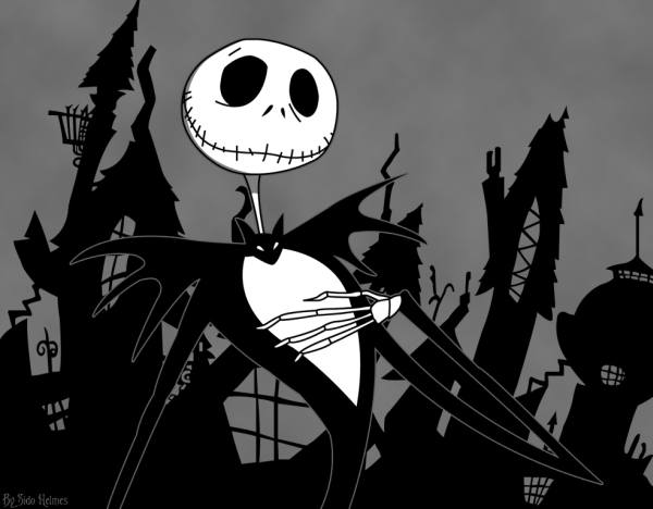 Gambar Jack Skellington Nightmare Before Christmas