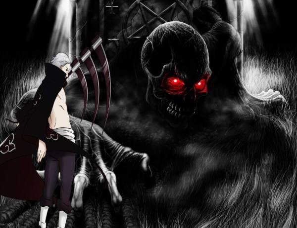 Gambar Naruto Wallpaper Akatsuki Hidan