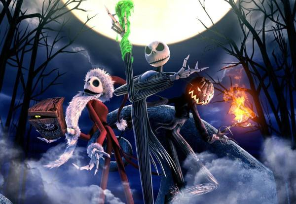 Gambar Nightmare Before Christmas 3