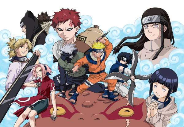 Gambar Poster Naruto Wallpaper All Friend