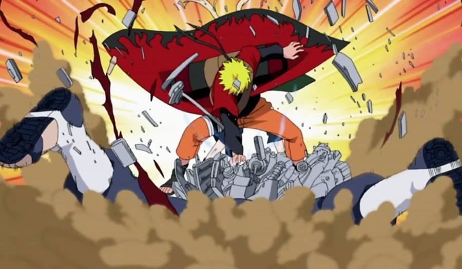 Gambar Poster Naruto Wallpaper Asura Lampu Kecil