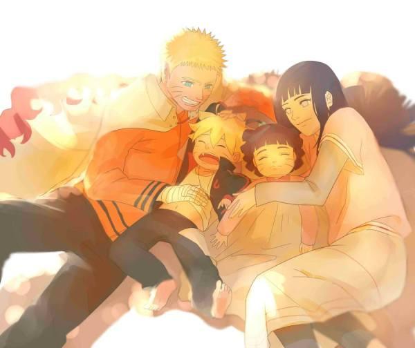 Gambar Poster Naruto Wallpaper Hinata Family