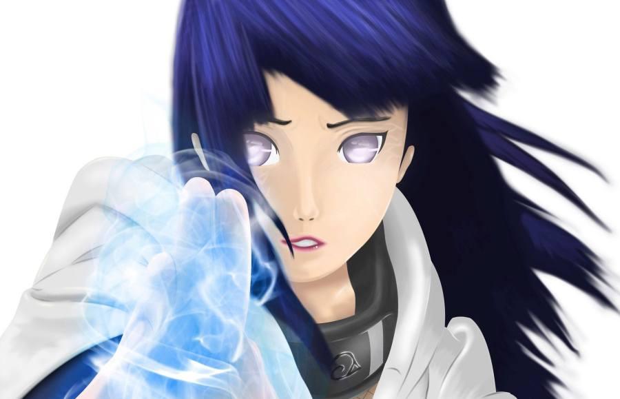 Gambar Poster Wallpaper Hinata Hyuga Naruto Lampu Kecil