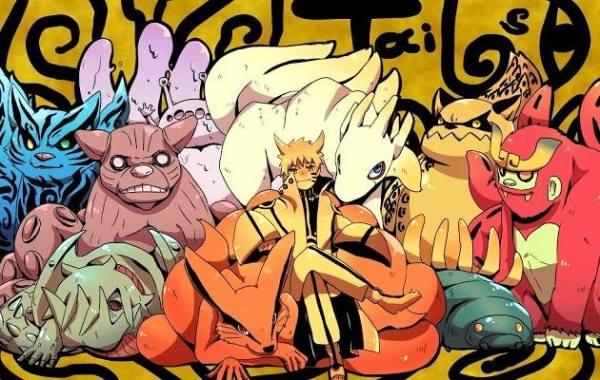 Gambar Poster Wallpaper Kyuubi Naruto