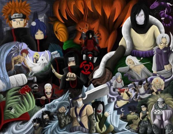 Gambar Poster Wallpaper Musuh Naruto