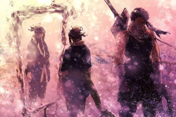 Gambar Poster Wallpaper Naruto Haku