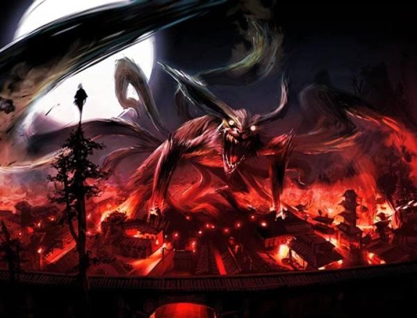 Gambar Poster Wallpaper Naruto Kurama