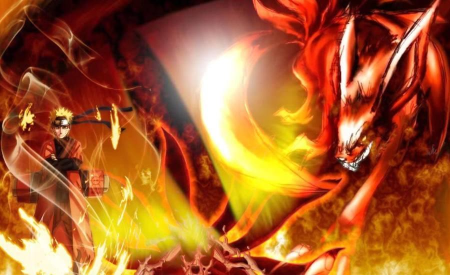 Gambar Poster Wallpaper Naruto Shippuden Sage Lampu Kecil