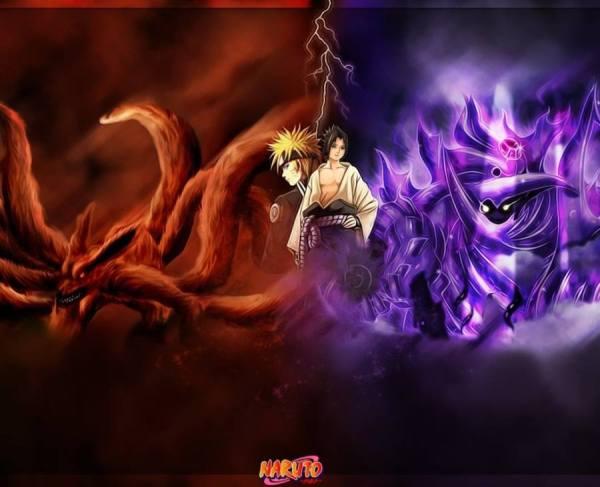 Gambar Uzumaki Naruto Sasuke Poster Wallpaper