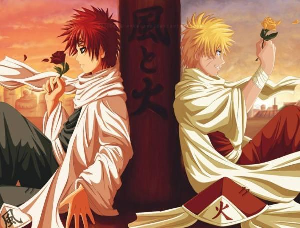 Gambar Wallpaper Naruto Gaara