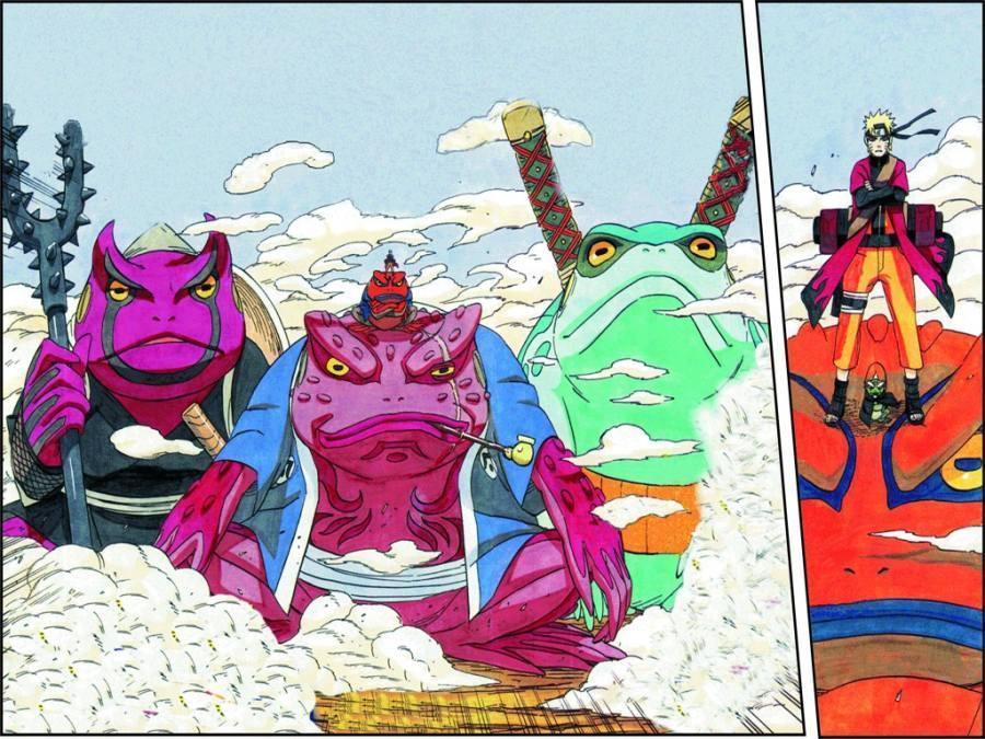 Gambar Wallpaper Naruto Gamabunta Lampu Kecil