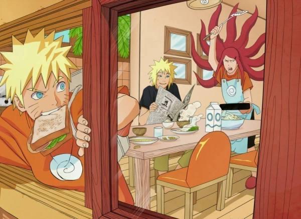 Gambar Wallpaper Naruto Minato Kushina Uzumaki