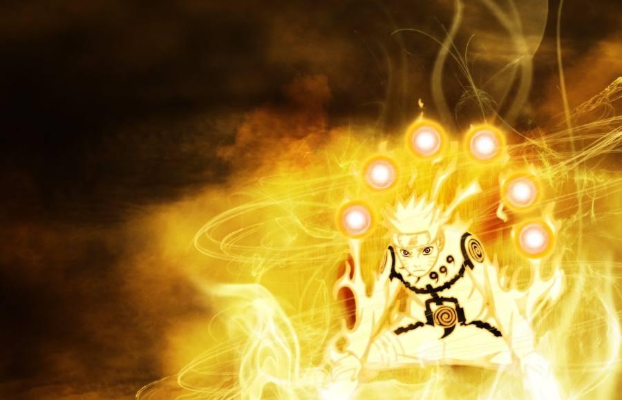 Gambar Wallpaper Naruto Rikudou Sennin Lampu Kecil