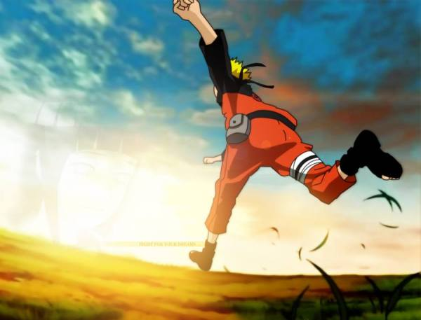 Gambar Wallpaper Naruto Run