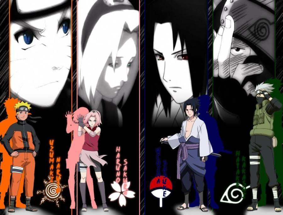 Gambar Wallpaper Naruto Sakura Sasuke Kakashi | Lampu Kecil