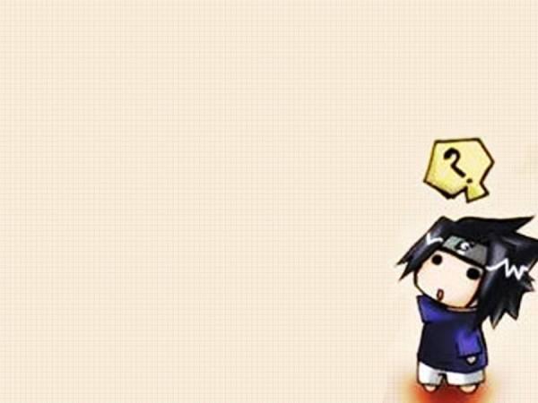 Gambar Wallpaper Naruto Shippuden Chibi Sasuke