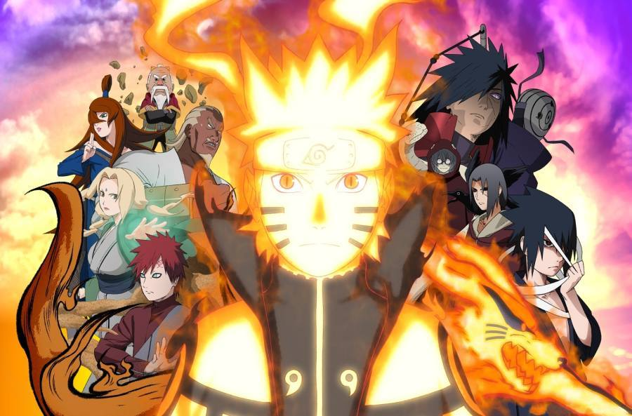 Gambar Wallpaper Naruto Shippuden Terbaru Lampu Kecil