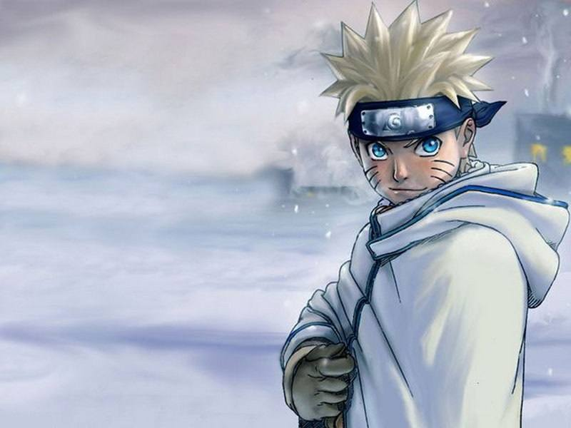 Gambar Wallpaper Naruto Uzumaki Ninja Lampu Kecil