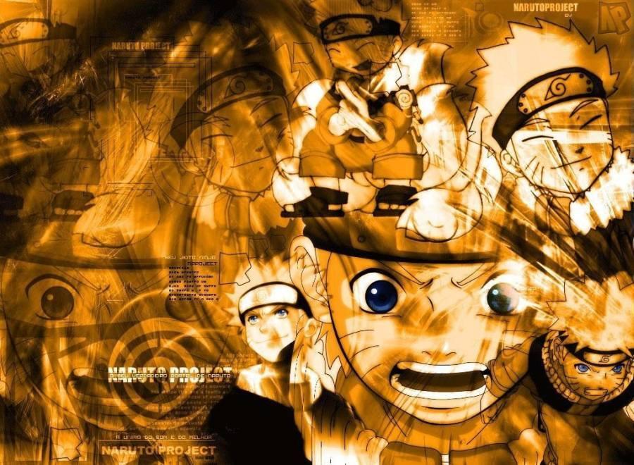 Gambar Wallpaper Ninja Uzumaki Naruto Lampu Kecil