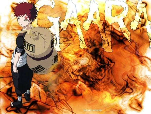 Gambar Wallpaper Poster Gaara Naruto