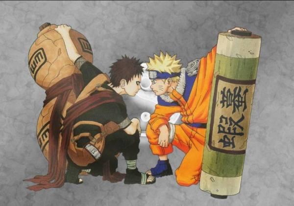 Gambar Wallpaper Poster Gaara Uzumaki Naruto