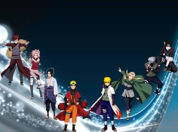 Gambar Wallpaper Poster Karakter Naruto