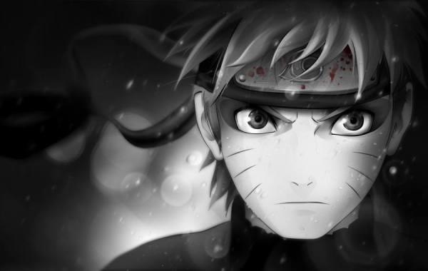75 Gambar Naruto Shippuden Hitam Putih Paling Keren