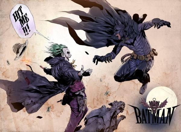 Joker Against Batman