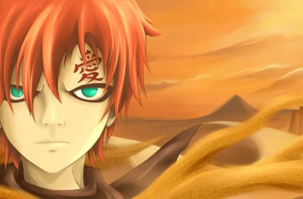 Poster Gambar Wallpaper Gaara Naruto