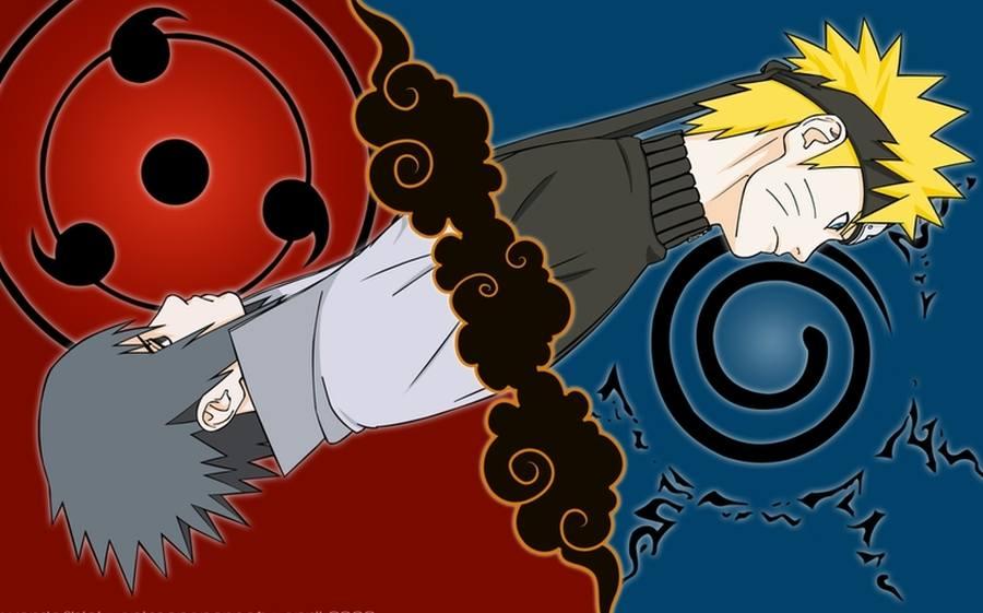 Poster Gambar Wallpaper Sasuke Uchiha Uzumaki Naruto Shippuden Lampu Kecil
