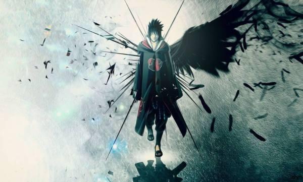 Wallpaper Gambar Poster Naruto Sasuke Uchiha