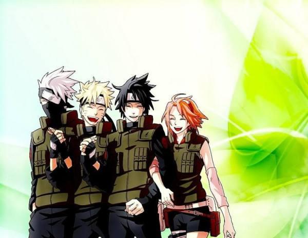 Wallpaper Gambar Poster Naruto Shippuden Team Kakashi