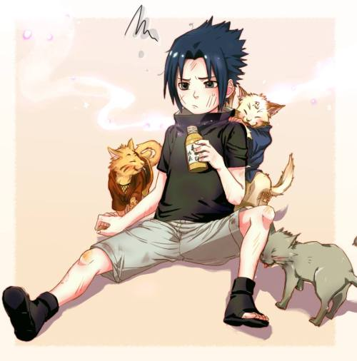 Wallpaper Gambar Poster Naruto Shippuuden Sasuke Uchiha