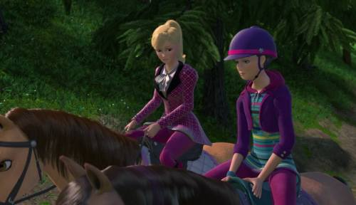 Gambar Barbie and Her Sisters in A Pony Tale 3