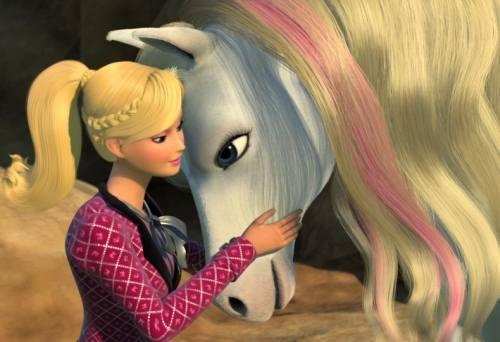 Gambar Barbie and Her Sisters in A Pony Tale 5