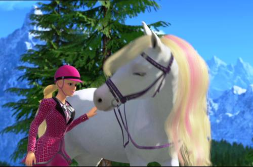Gambar Barbie Her Sisters in A Pony Tale 2
