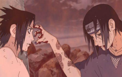 Sasuke vs Itachi Mangekyo Sharingan