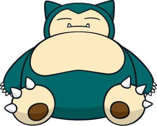 Pokemon Snorlax Cute