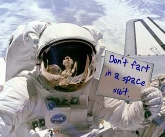 Funny Space Suit