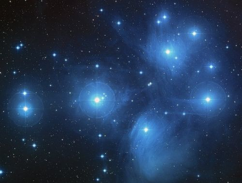 Peaceful Space Stars and Galaxy