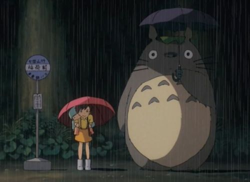 My Neighbor Totoro Anime Movie